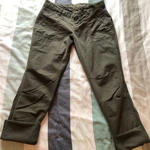 Skinny utility Khaki pants by Gap